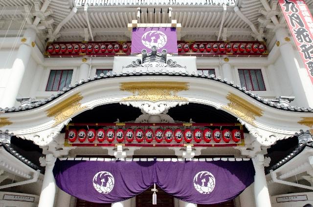 銀座を言えば銀ブラ!:リニューアルした歌舞伎座を覗いてみよう