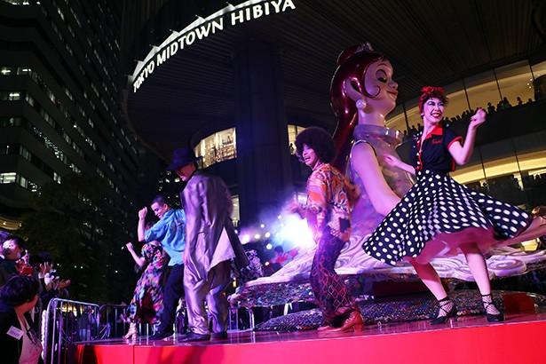 日比谷で、演劇やダンス、舞踊、ミュージカル、オペラなど多彩な舞台芸術