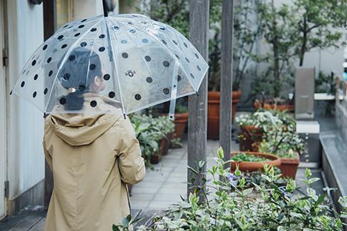 雨の日の外出が楽しくなりますように