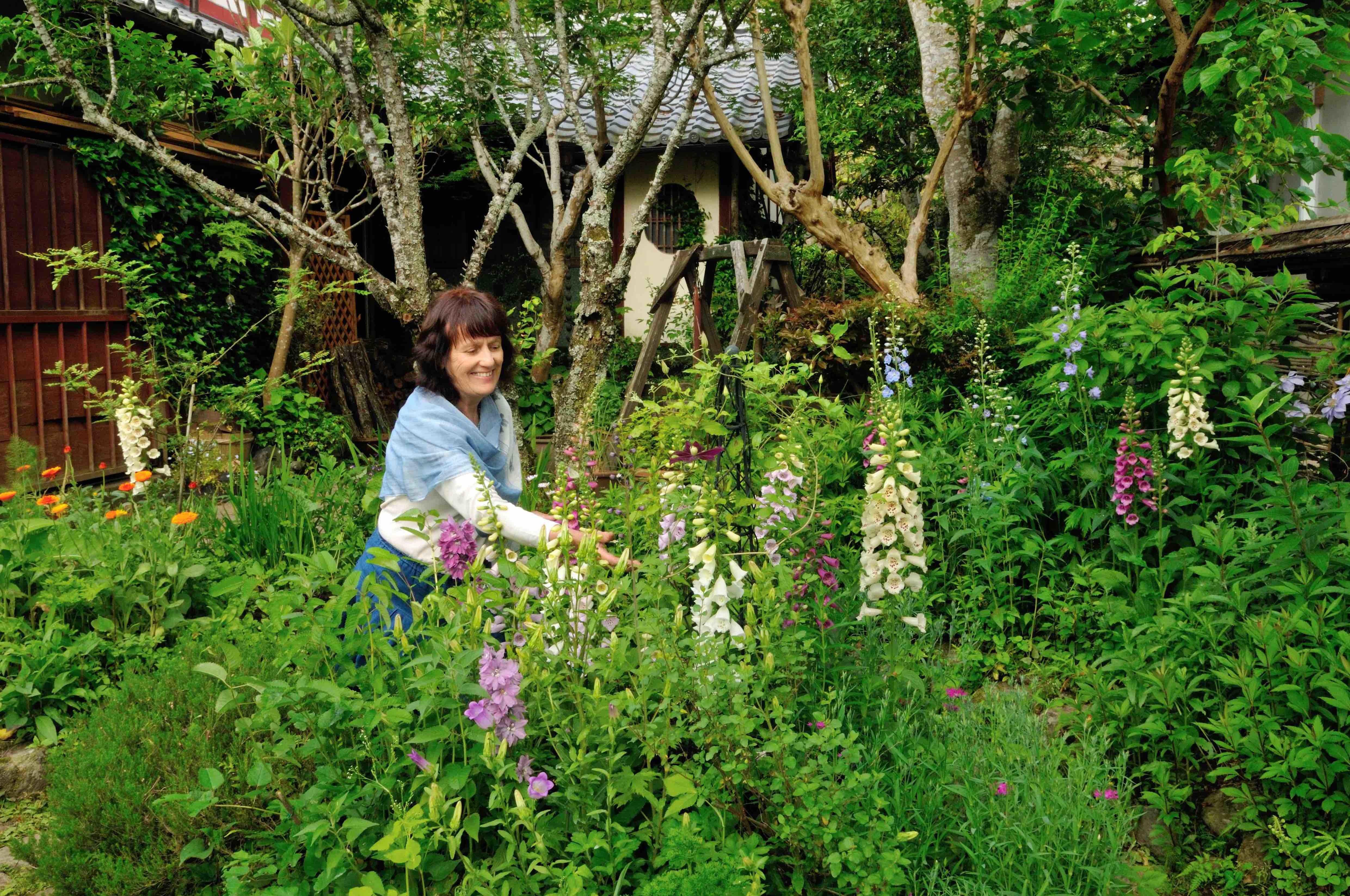 京都大原の庭とキッチンから ベニシアさんの手づくり暮らし展