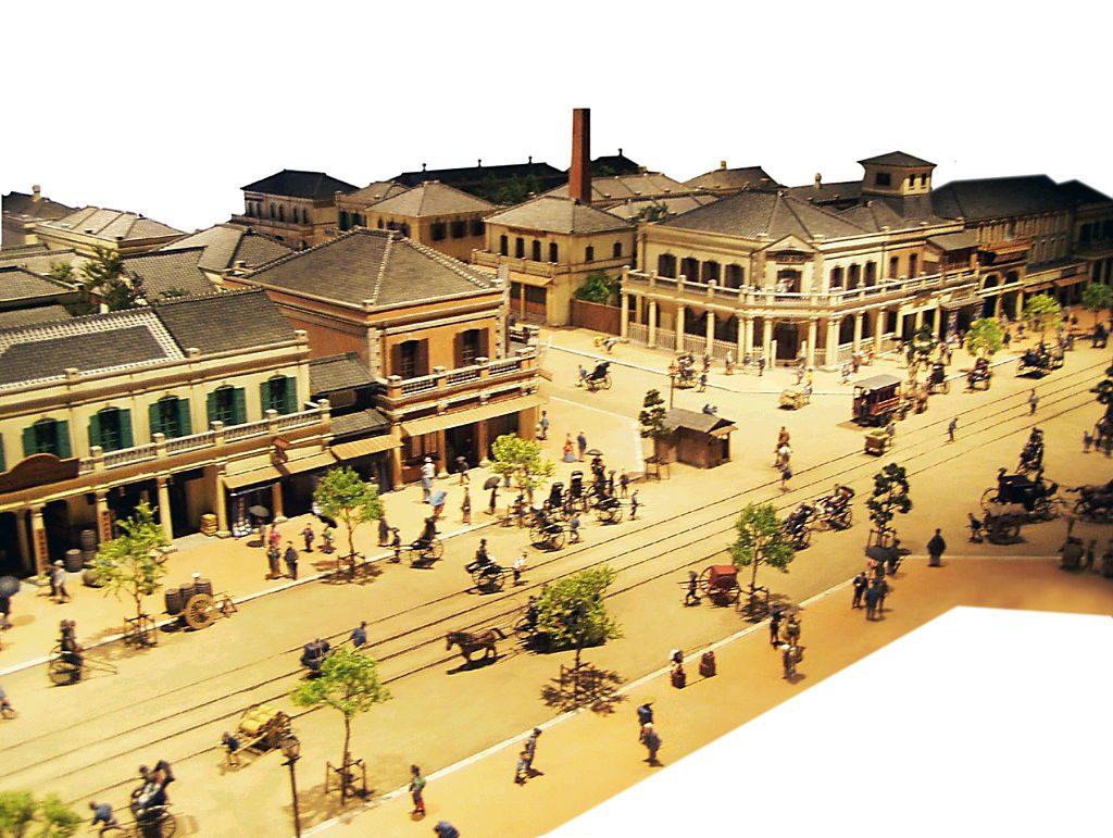 明治時代の銀座~煉瓦街の建設~