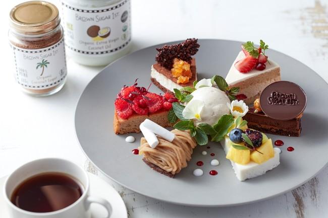 Brown Sugar 1st. Collaboration Cake Set